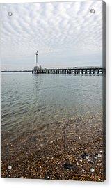 Sea Shore Acrylic Print by Svetlana Sewell