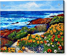 Sea Side Spring Acrylic Print by Michael Durst
