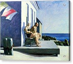 Sea Watchers Acrylic Print by Edward Hopper