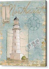 Seacoast Lighthouse II Acrylic Print by Paul Brent