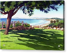 Seagrove Park Del Mar Acrylic Print by Mary Helmreich