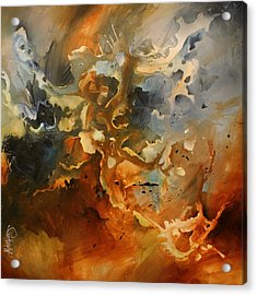 'searching For Chaos' Acrylic Print by Michael Lang