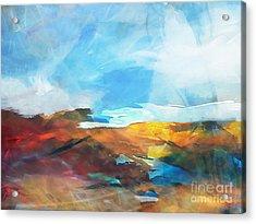 Seascape 4 Acrylic Print by Artwork Studio