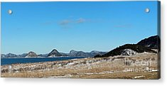 Seascape - Panorama Acrylic Print by Barbara Griffin