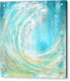 Seascapes Abstract Art - Mesmerized Acrylic Print by Lourry Legarde