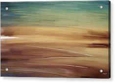 Seaside Acrylic Print by Lourry Legarde