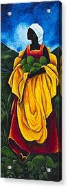 Season Avocado Acrylic Print by Patricia Brintle