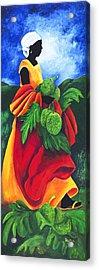 Season Breadfruit Acrylic Print by Patricia Brintle