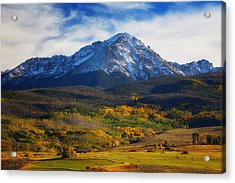 Seasons Change Acrylic Print by Darren  White
