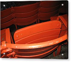 Seats - Nationals Park - 01132 Acrylic Print by DC Photographer