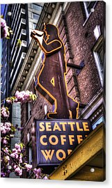 Seattle Coffee Works Acrylic Print by Spencer McDonald
