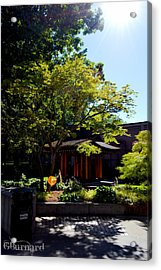 Seattle Japanese Garden Acrylic Print by Guinapora Graphics