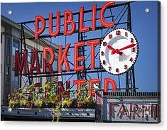 Seattle Market  Acrylic Print by Brian Jannsen