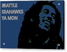 Seattle Seahawks Ya Mon Acrylic Print by Joe Hamilton