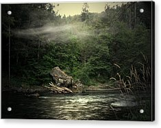 Seclusion On The Trinity Acrylic Print by Joyce Dickens