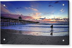 Second Shift Acrylic Print by Sean Foster
