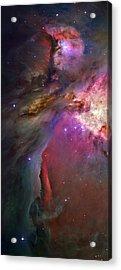 Secrets Of Orion II Acrylic Print by Ricky Barnard