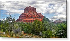 Sedona Arizona Bell Rock Acrylic Print by Gregory Dyer