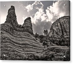 Sedona Arizona Mountains - 01 Acrylic Print by Gregory Dyer