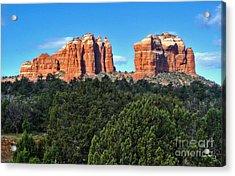 Sedona Arizona Mountains - 04 Acrylic Print by Gregory Dyer