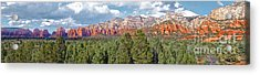 Sedona Arizona Panorama - 02 Acrylic Print by Gregory Dyer