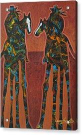 Sedona Sundown Acrylic Print by Lance Headlee