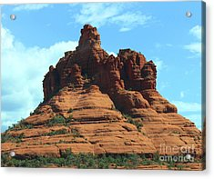 Sedona's Red Rock Acrylic Print by French Toast