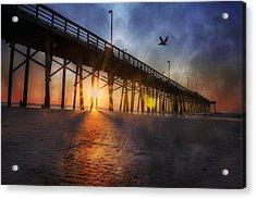 Seize The Day Acrylic Print by Betsy C Knapp