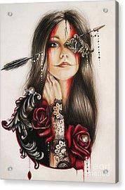 Self Affliction Acrylic Print by Sheena Pike
