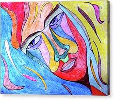 Selfless Acrylic Print by Donna Blackhall
