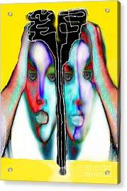 Separation Anxiety Acrylic Print by Ruth Clotworthy