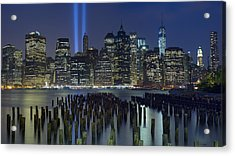 September 11 Acrylic Print by Rick Berk