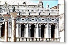 Serenade In Venice Acrylic Print by Ira Shander
