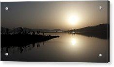 Serene Sunrise Acrylic Print by Vinod Chauhan