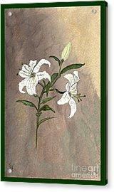 Serenity Acrylic Print by Ella Kaye Dickey