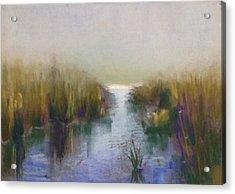 Serenity Acrylic Print by Judy Albright