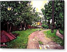 Sergeiev Posad Acrylic Print by Sarah Loft