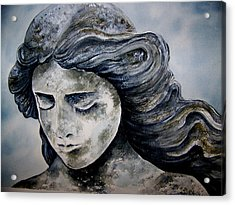 Set In Stone Acrylic Print by Brenda Owen