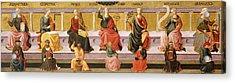 Seven Liberal Arts Acrylic Print by Domenico di Michelino