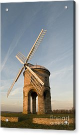 Seventeenth Century Mill Acrylic Print by Anne Gilbert