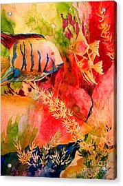 Severums And Angels 6-4-06 Julianne Felton Acrylic Print by Julianne Felton