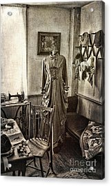 Sewing Room 2 Acrylic Print by Cindi Ressler