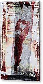 Sexy Legs Acrylic Print by David Ridley