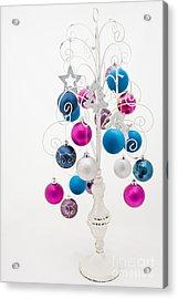 Shabby Chic Christmas Acrylic Print by Anne Gilbert