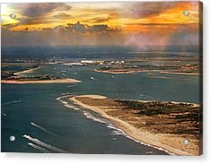 Shackleford Banks Fort Macon North Carolina Acrylic Print by Betsy Knapp