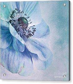 Shades Of Blue Acrylic Print by Priska Wettstein
