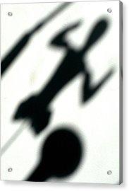 Shadow Art Acrylic Print by Godfrey McDonnell
