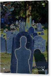 Shadow Grave  Acrylic Print by First Star Art