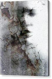 Shadow On A Wall Acrylic Print by Gun Legler