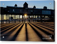 Shadows And Sunset Acrylic Print by Joe Faragalli